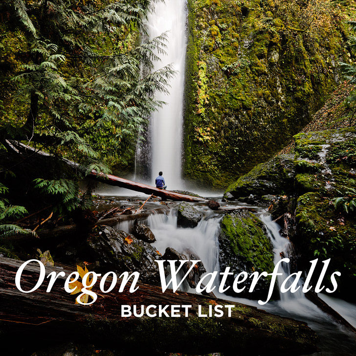 Oregon Waterfalls Bucket List - Did you know there are over 200 waterfalls in Oregon? // localadventurer.com