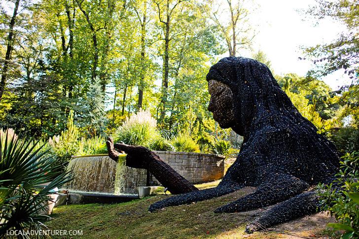 Living Sculptures at the Atlanta Botanical Garden // localadventurer.com