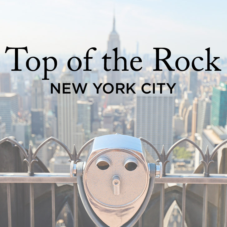 Your Guide to Top of the Rock at Rockefeller Center
