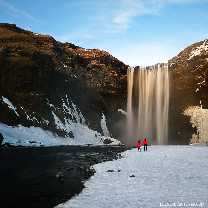 Skogafoss (Iceland Winter Road Trip - Best Stops and Places to Avoid) // localadventurer.com