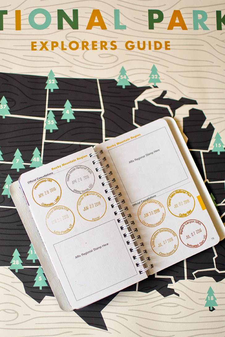 National Parks Passport (25 Best Gifts for Adventurers) // localadventurer.com