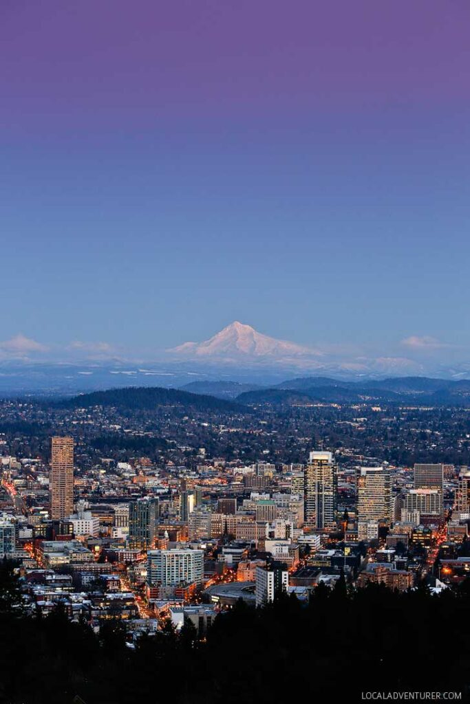 Find out where to find the best view of Portland // localadventurer.com