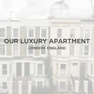 Our London Luxury Apartment // localadventurer.com