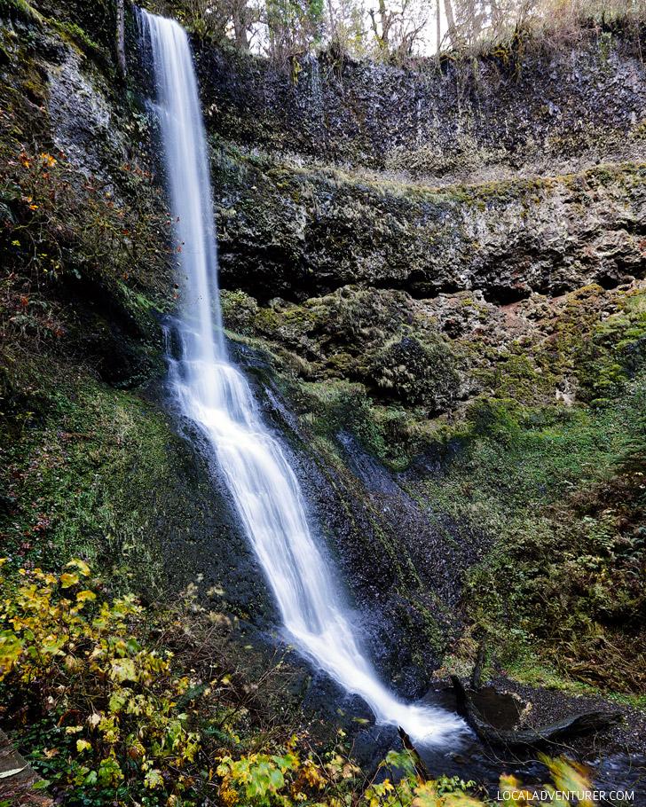 Winter Falls, Trail of Ten Falls Hike, Silver Falls State Park, Oregon USA // localadventurer.com