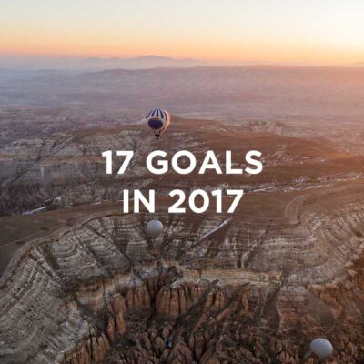 17 in 2017 Goals / New Year Resolutions // localadventurer.com