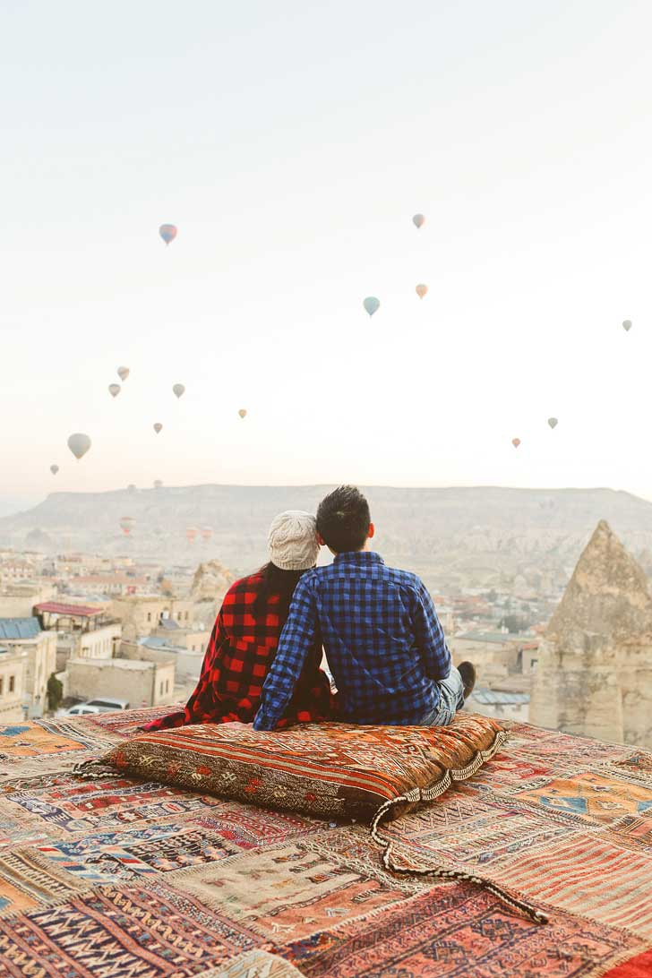 Hot Air Balloons in Cappadocia Turkey // localadventurer.com