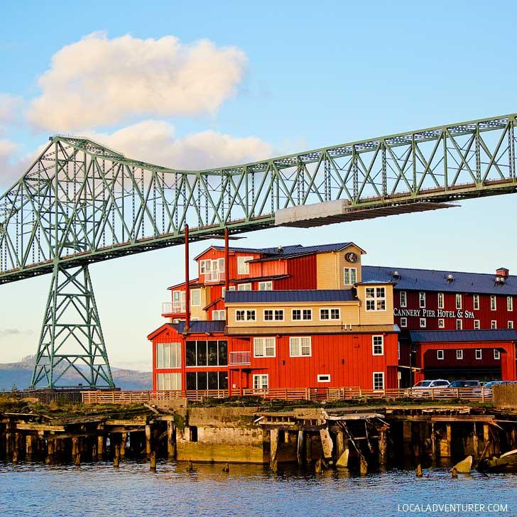 Cannery Pier Hotel (15 Unique Things to Do in Astoria Oregon) // localadventurer.com