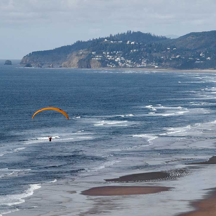 Cape Lookout State Park - Paragliding from Anderson's Viewpoint, Oregon // localadventurer.com