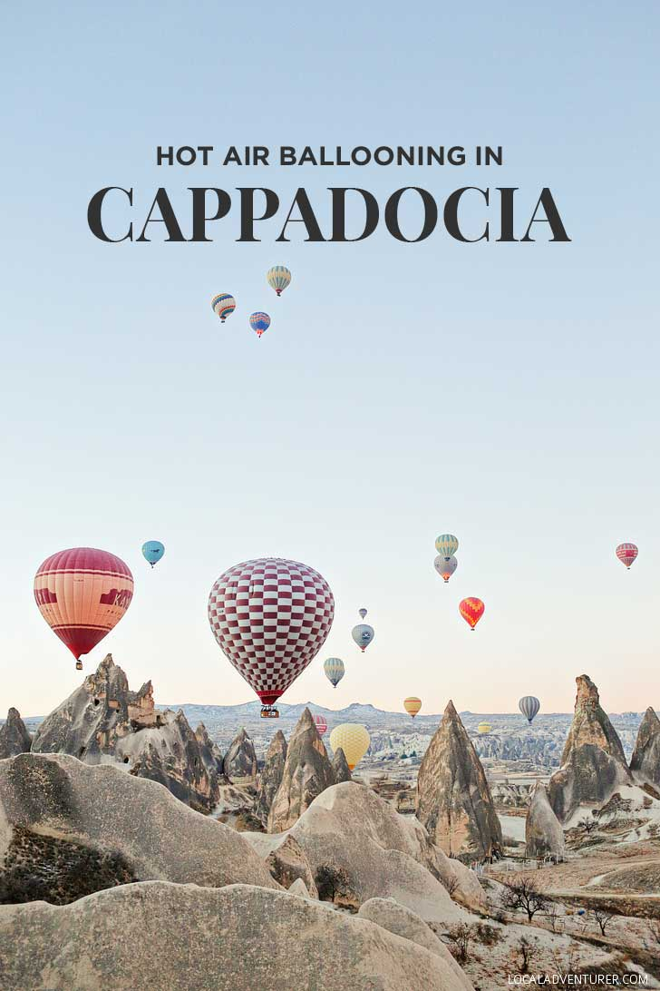 Riding Cappadocia hot air balloons was the highlight of our Turkey trip. See more photos and read about what to expect and tips for your experience here // localadventurer.com