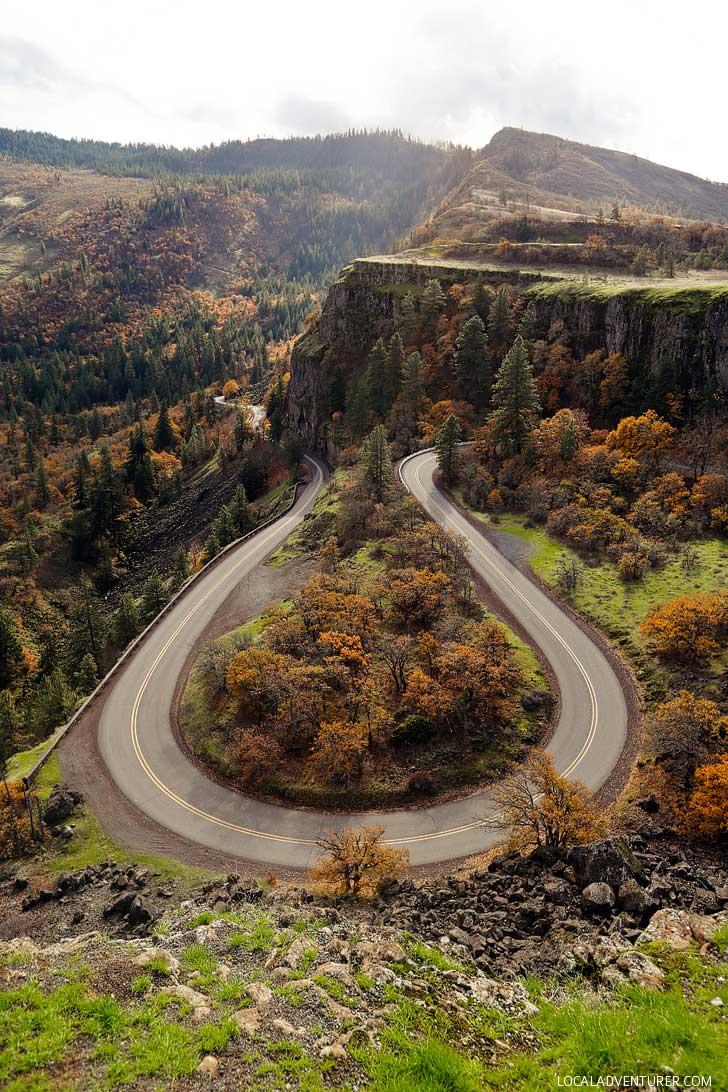 Rowena Crest Hike Columbia River Gorge Oregon // localadventurer.com