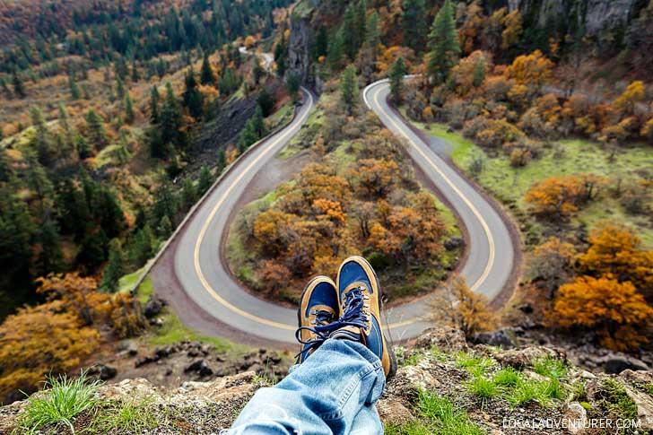Rowena Crest, Oregon // localadventurer.com