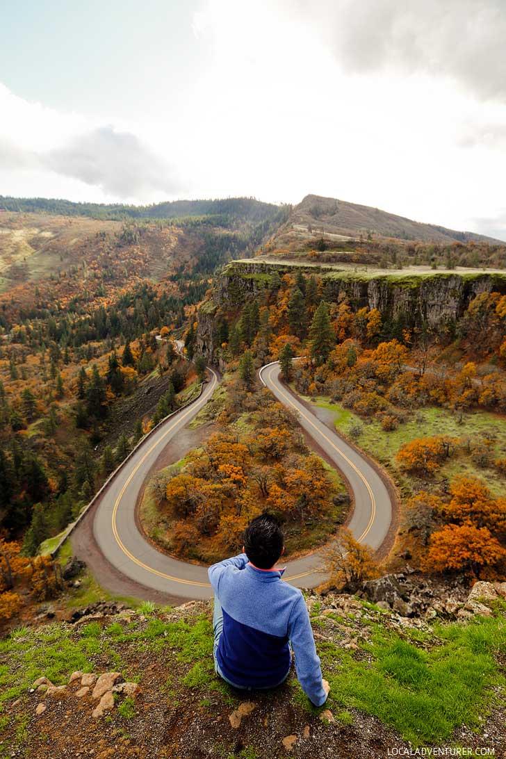 Rowena Crest, Tom Mccall Preserve, Oregon // localadventurer.com