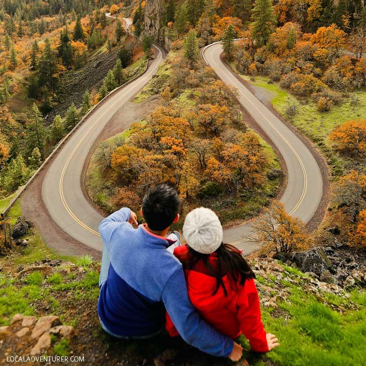 Rowena Crest (15 Best Day Trips from Portland Oregon) // localadventurer.com