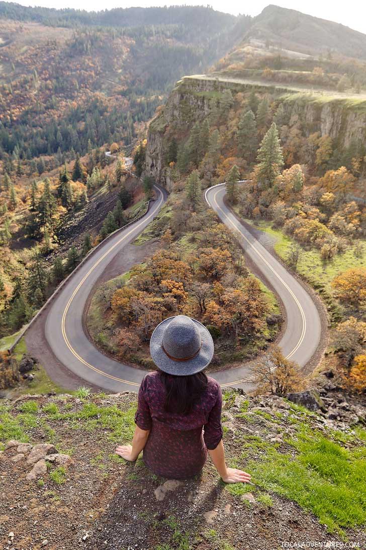 Rowena Crest Viewpoint, Oregon // localadventurer.com