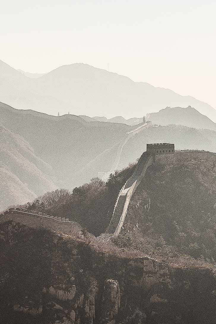 The Great Wall of China (How to Spend an Amazing 2 Days in Beijing China) // localadventurer.com