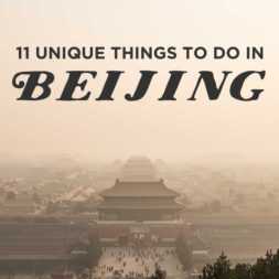 11 Unique Things to Do in Beijing China