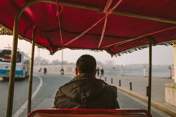 Ride in a tuk-tuk Ride in a tuk-tuk or rickshaw (11 Unique Things to Do in Beijing) // localadventurer.com