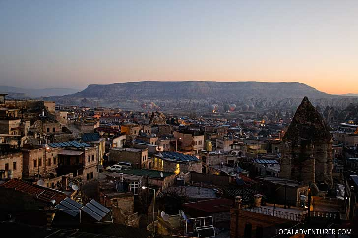 View from Sultan Cave Suites in Cappadocia, Turkey // localadventurer.com