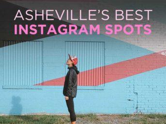 Asheville NC's Best Instagram Spots // localadventurer.com