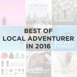 Best of Local Adventurer in 2016
