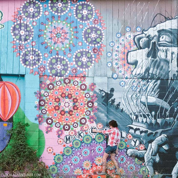 Foundation Walls (Asheville Street Art Guide) // localadventurer.com