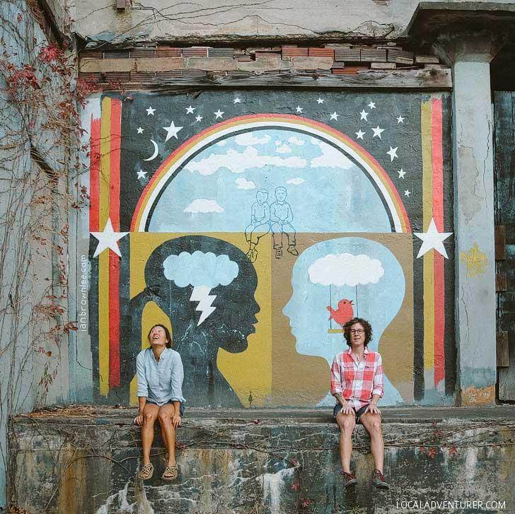 Ian Brownlee Asheville Street Art // localadventurer.com