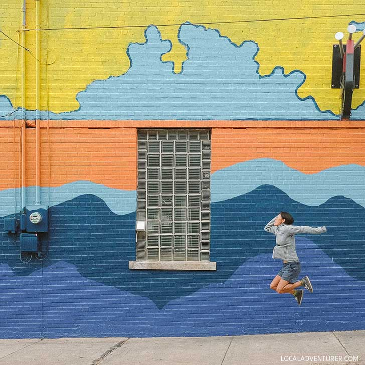 Magnetic Theater Asheville Mural (Ultimate Guide to Asheville Murals) // localadventurer.com