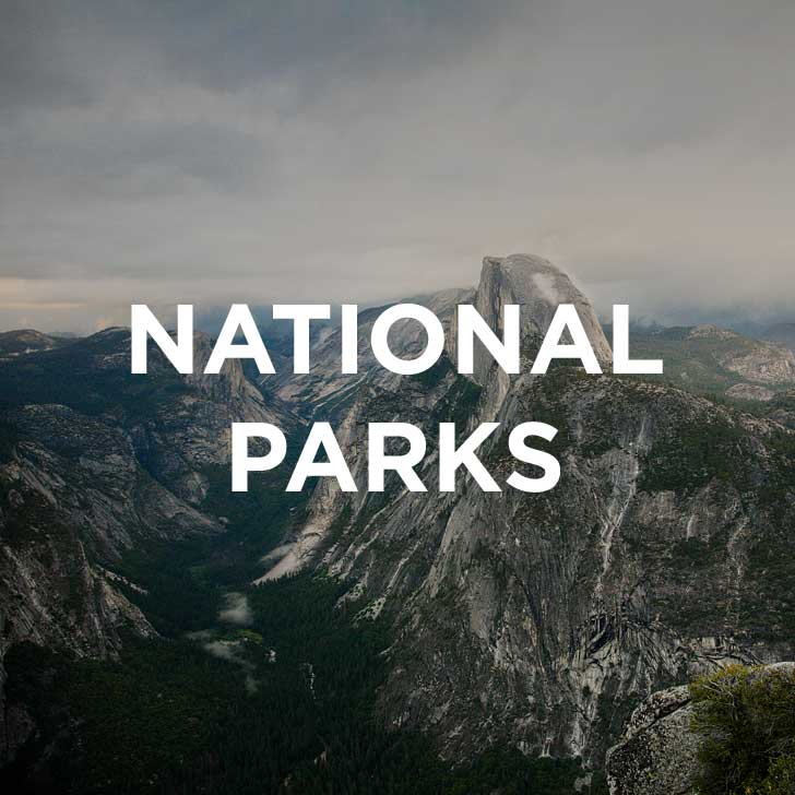 National Park Units within the US // localadventurer.com