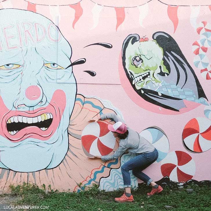 Odditorium Asheville Street Art // localadventurer.com