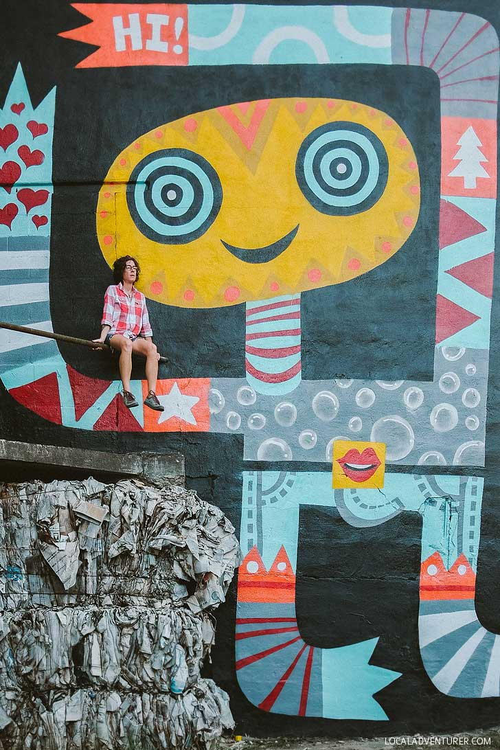 Peter Parpan Asheville Murals (Guide to the Best Murals in Town) // localadventurer.com