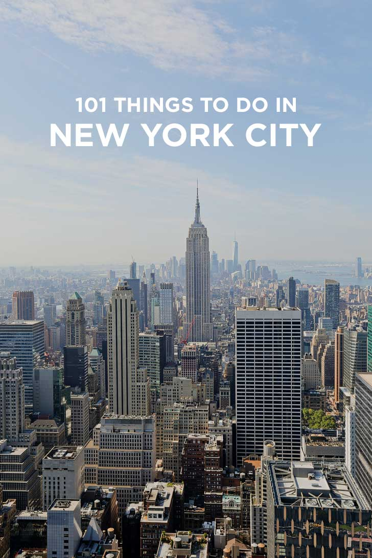 Ultimate new york city bucket list 101 things to do in nyc for New york thing to do