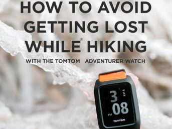 How to Avoid Getting Lost While Hiking with the TomTom Adventurer Watch - It's perfect for our outdoors adventures, but find out what we liked and didn't like about it // localadventurer.com