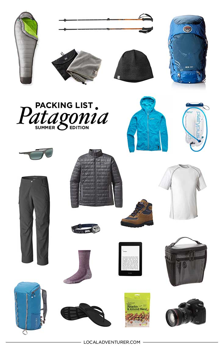 Patagonia is a remarkable place with green blue lagoons and razor-edged mountains. The journey was worth every moment. Here's my guide on what to pack for Patagonia W hike // https://localadventurer.com