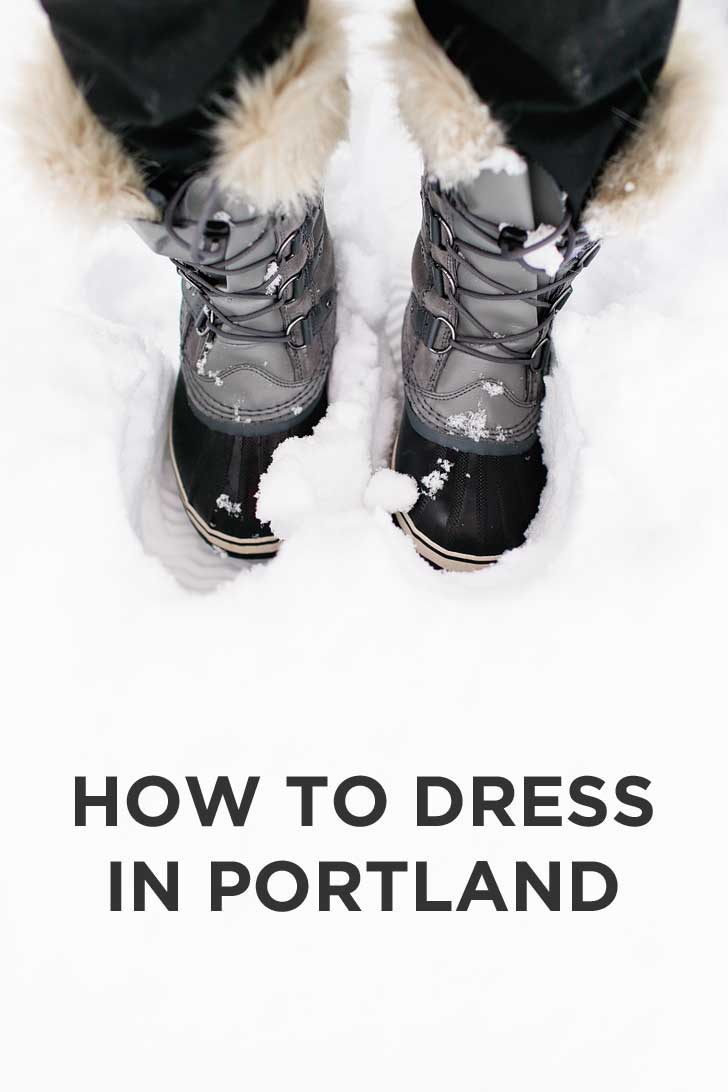 a53259c40493 How to Dress in Portland Oregon - the basic rules, what we currently wear,