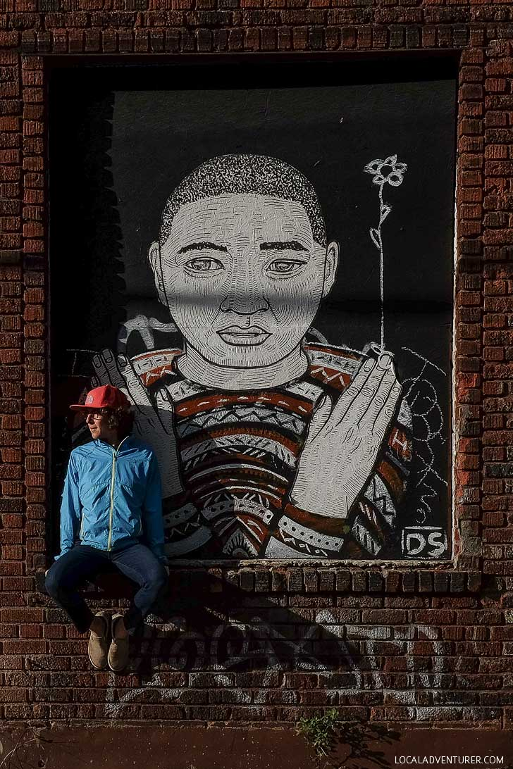 Best Street Art in Asheville NC // localadventurer.com