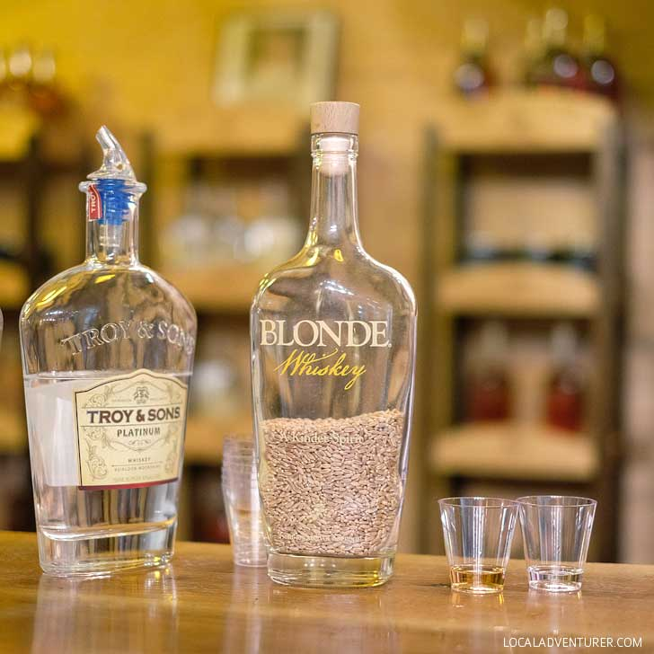 Asheville Distilling Company Tours (Free Things to Do in Asheville NC) - Learn about the history and the process of the distillery and sample their products at the end // localadventurer.com