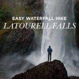 Latourell Falls Hike – Easy Waterfall Hikes Near Portland