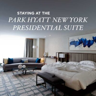 The Park Hyatt New York is located in the heart of midtown and their presidential suite was an amazing space as our home away from home. // localadventurer.com