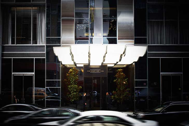 Park Hyatt NY has 2 cars readily available to take guests within a 10 block radius. It's first come, first served, so make your reservations early. // localadventurer.com
