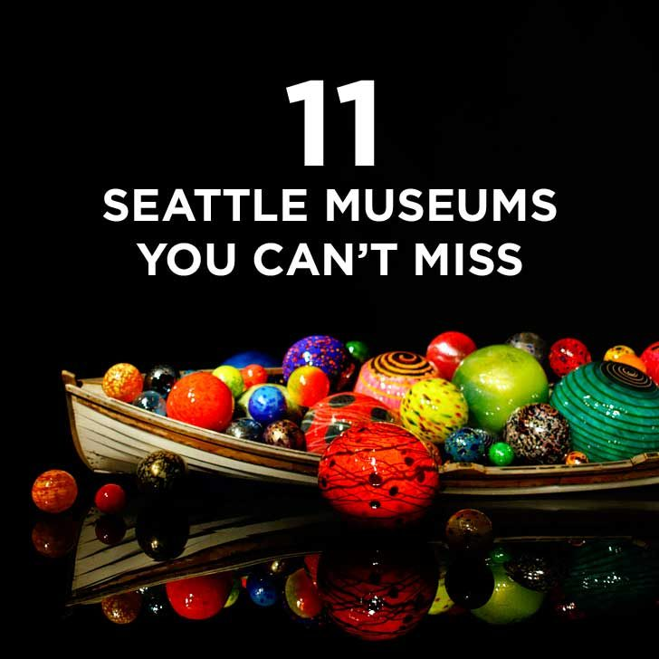 11 Seattle Museums You Can't Miss + Guide to Free Museum Days and map to help you get around // localadventurer.com