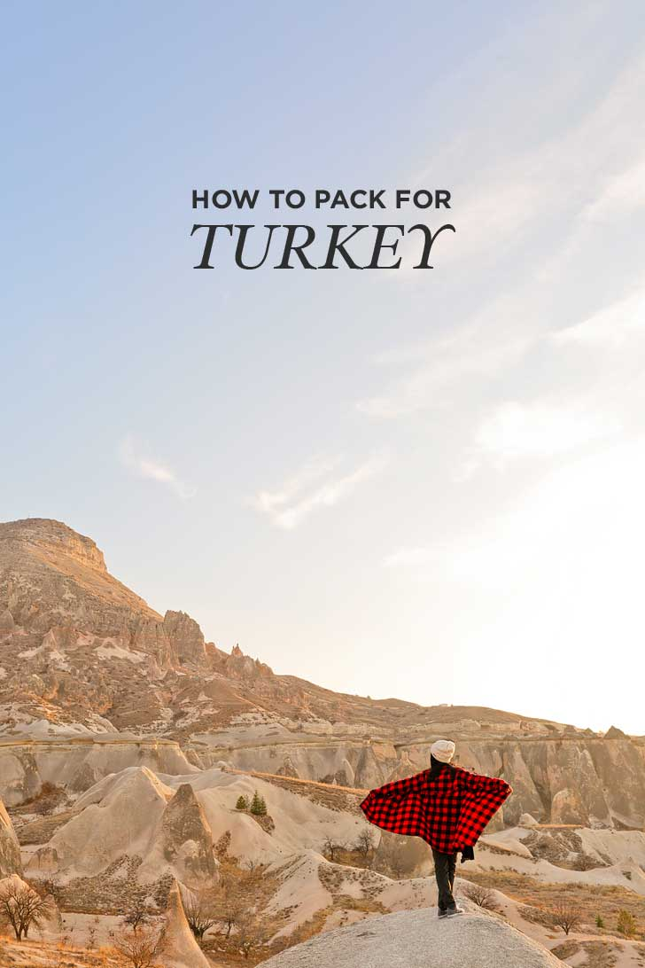 WWhat to Pack for Turkey in Winter (Istanbul and Cappadocia) - even with bulkier items, if you pack versatile pieces, you'll have plenty of room left to bring home turkish delight! // localadventurer.com