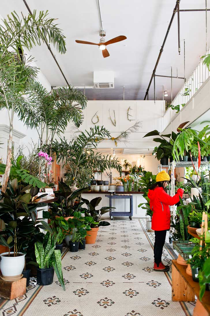 Solabee Flowers and Botanicals + 25 Best Instagram Spots in Portland Oregon // localadventurer.com