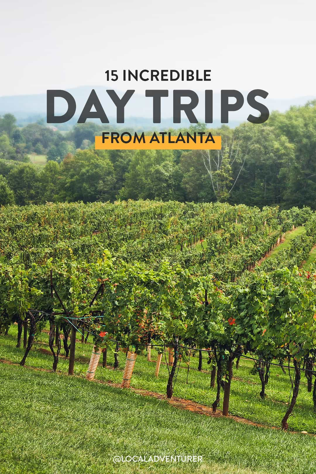 15 Incredible Day Trips from Atlanta GA.