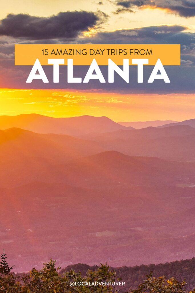 15 best day trips from atlanta georgia