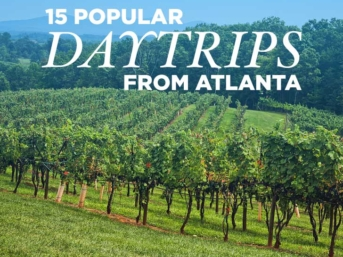 15 Best Day Trips from Atlanta GA // localadventurer.com