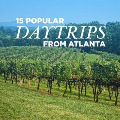 15 Best Day Trips from Atlanta GA // localadventurer.com
