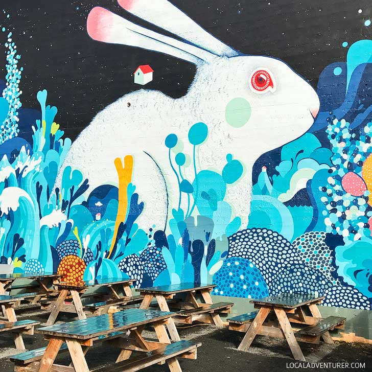 Rabbit Mural by Mateu Velasco + Best of Portland Murals // localadventurer.com