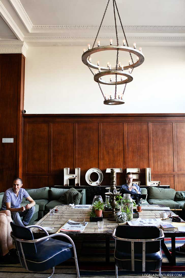 The Ace Hotel Portland Oregon (25 Best Instagram Spots in Portland) // localadventurer.com