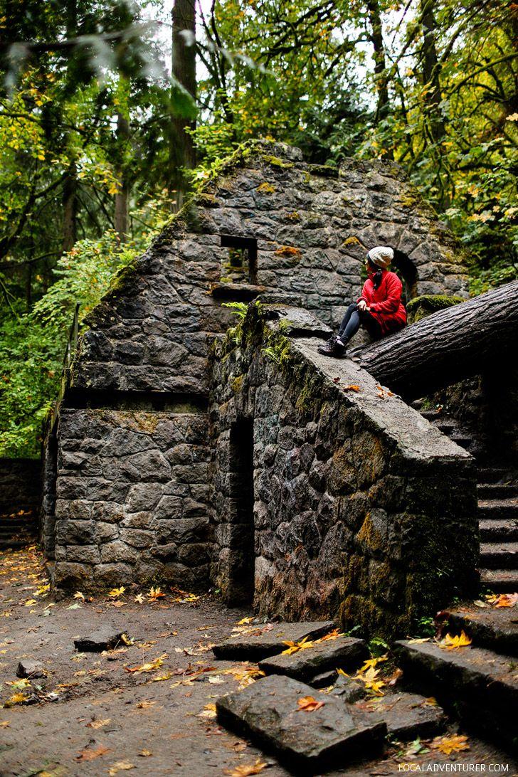 Witches Castle + 25 Best Instagram Spots in Portland Oregon // localadventurer.com
