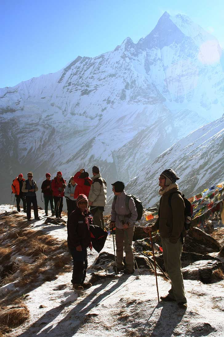 Trek to Annapurna Base Camp + 25 Great Treks of the World to Put on Your Bucket List (photo: Wen-Yan King) // localadventurer.com